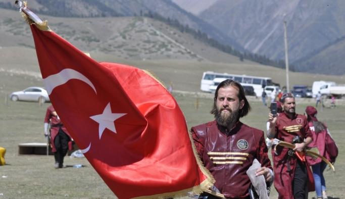 """Kırgızistan'da """"3. Dünya Göçebe Oyunları"""" heyecanı sürüyor"""