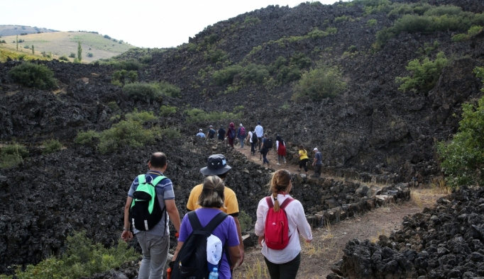 Kula Volkanik Jeoparkı eğitim sahası oldu
