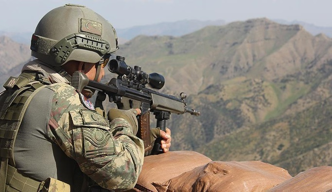 Mardin'de 2 PKK'lı terörist etkisiz hale getirildi