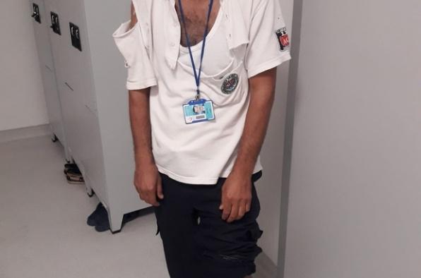 Mersin'de ambulans şoförüne dayak