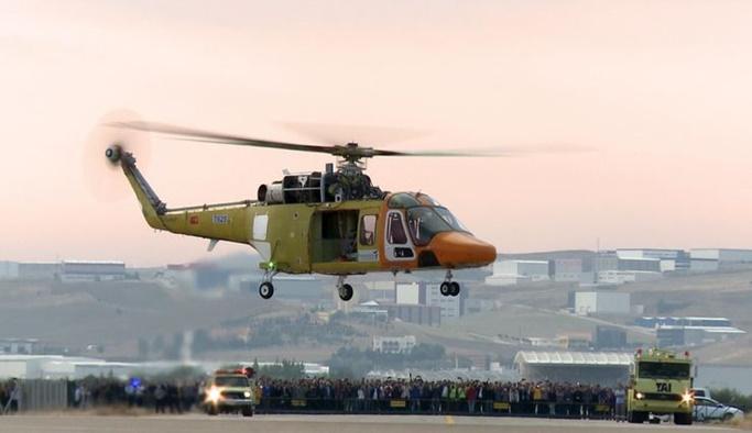 Milli helikopter T625 ilk uçuşunu gerçekleştirdi