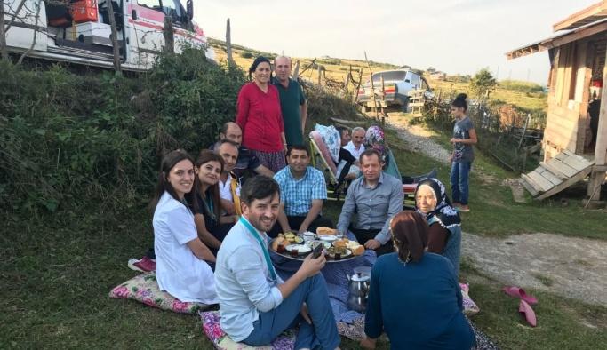 MS hastasının piknik yapma hayali gerçek oldu