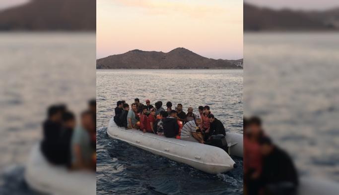 Muğla'da 37 düzensiz göçmen yakalandı