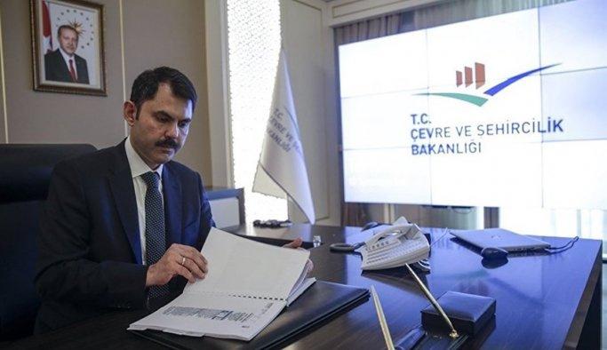 Murat Kurum'dan kentsel dönüşüm açıklaması