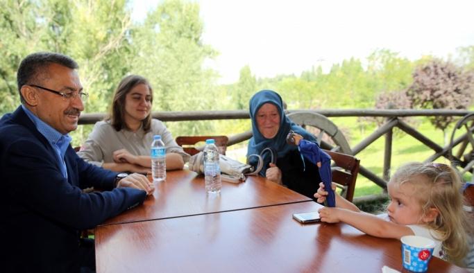 Fuat Oktay, Altınköy Açık Hava Müzesi'ni ziyaret etti