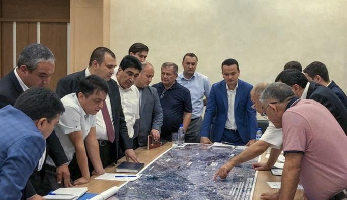 Özbekistan'daki ilk ücretli otoban projesi Türk şirketine emanet