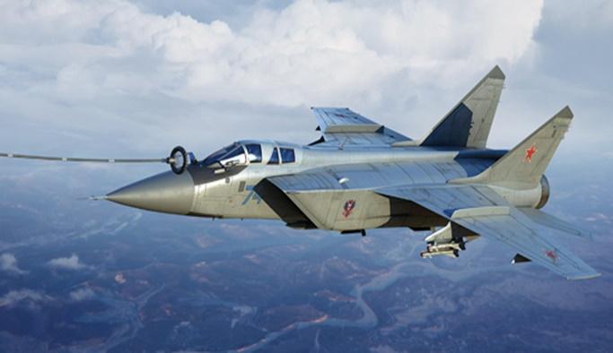 Rusya'ya ait Mig-31 savaş uçağı düştü