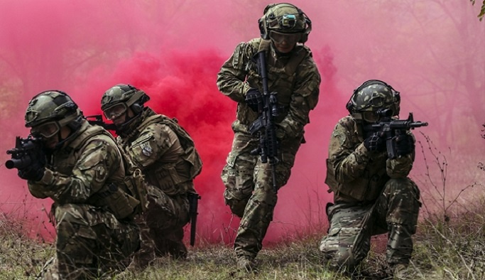 SAS komandolarının zorlu eğitimi