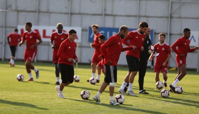 Sivasspor'da Büyükşehir Belediye Erzurumspor maçı hazırlıkları