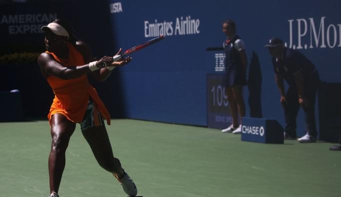 Son şampiyon Stephens çeyrek finali geçemedi