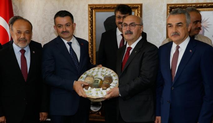Tarım ve Orman Bakanı Bekir Pakdemirli Aydın'da