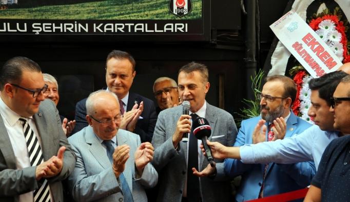 Tekirdağ Beşiktaşlılar Derneği'nin yeni lokali açıldı