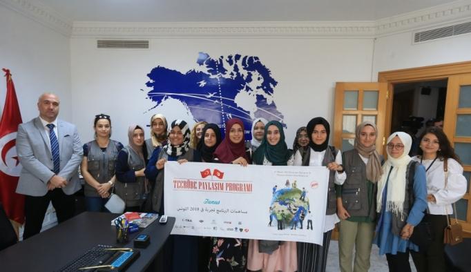 TİKA gönüllüleri Tunus'ta