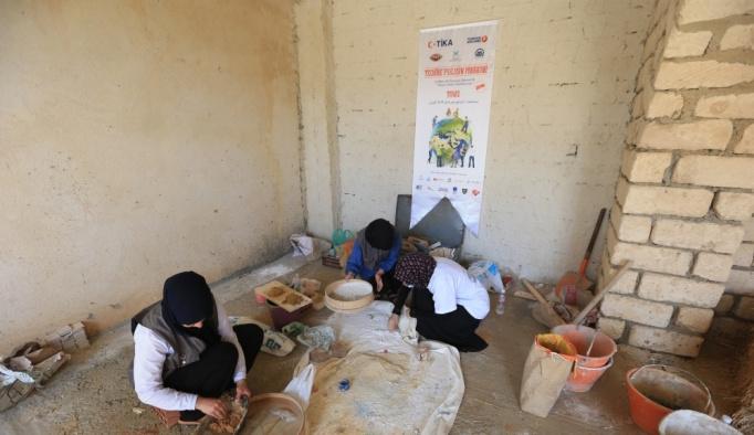 TİKA gönüllülerinden Tunus'ta ekolojik kalkınmaya destek