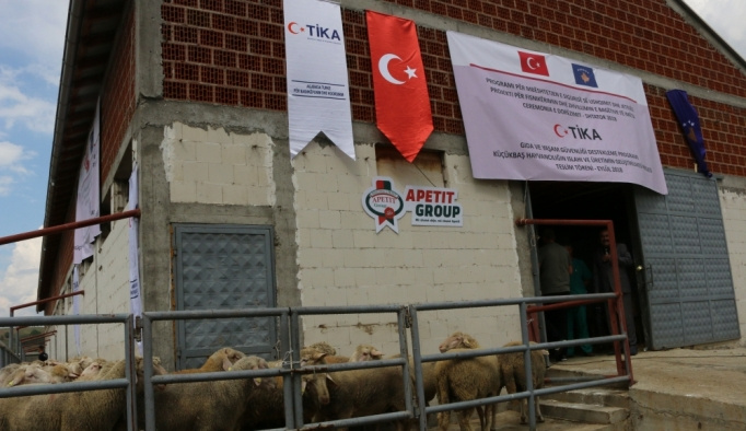 TİKA'dan Kosova'daki çiftçilere destek
