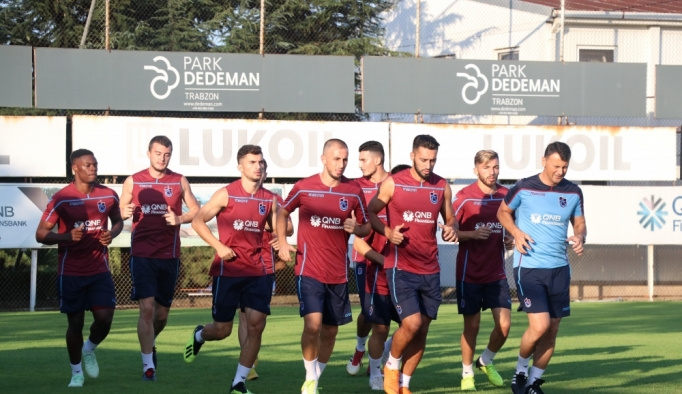 Trabzonspor, Aytemiz Alanyaspor maçı hazırlıklarına başladı