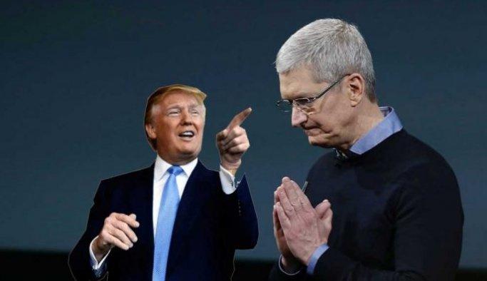 Trump'ın Çin kararı Apple'a zarar verecek