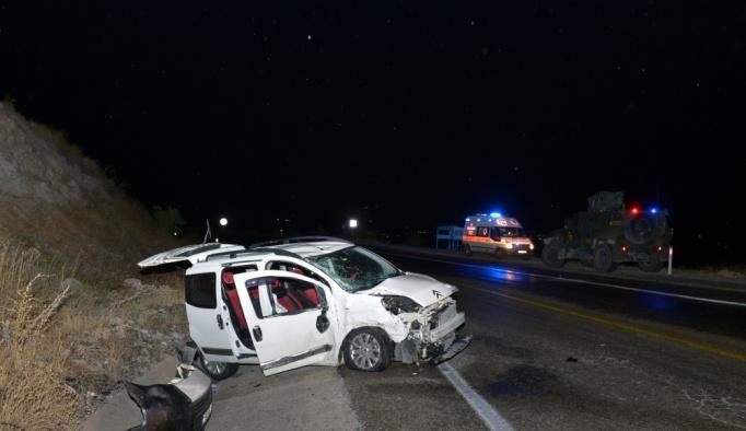 Tunceli'de trafik kazası: 7 yaralı