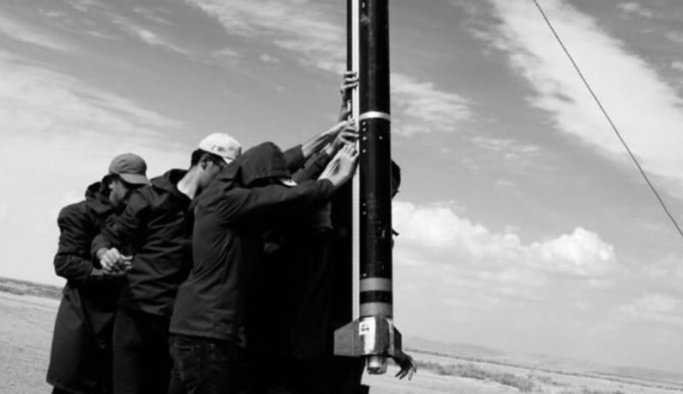 Tuz Gölü'nde yerli roketler fırlatıldı