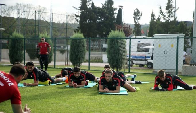 Ümit Milli Futbol Takımı hazırlıklarına başladı