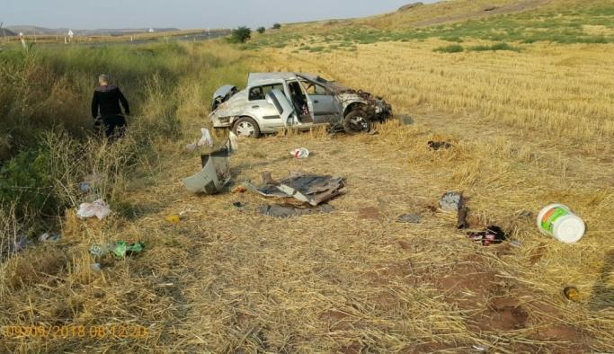Yozgat'ta kaza: 1 ölü, 4 yaralı