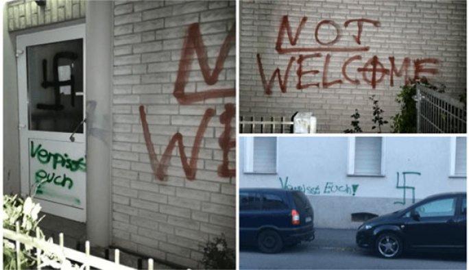Almanya'da camiye saldırı düzenlendi!