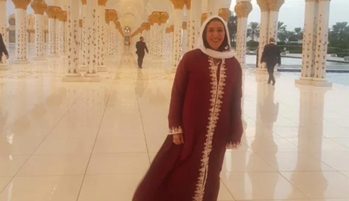 Camideki bu kadının kimliği şaşırttı