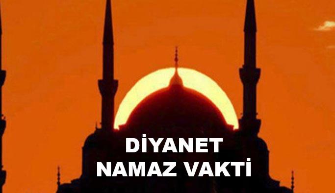 Diyanet Namaz Vakitleri: İstanbul, Ankara, İzmir, Bursa, Adana namaz saat kaçta?
