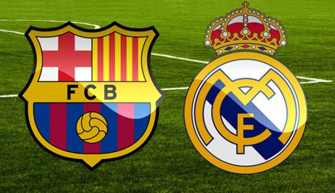 Dünya Ronaldo ve Messi'siz El Clasico için hazır... Barcelona Real Madrid maçı hangi kanalda saat kaçta?