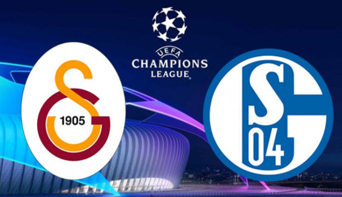 Galatasaray - Shalke 04 maçının ilk 11'leri belli oldu