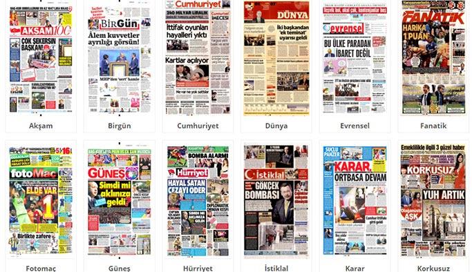 Gazetelerin bugünkü manşetleri - 25 Ekim 2018