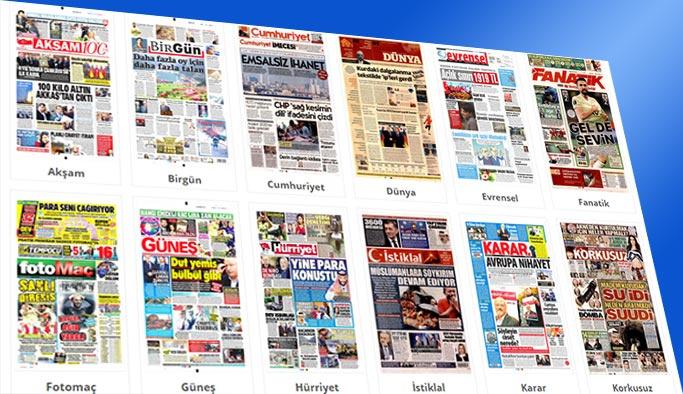 Gazetelerin bugünkü manşetleri - 26 Ekim