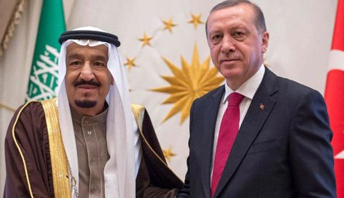 Kral Selman'dan Başkan Erdoğan'a telefon