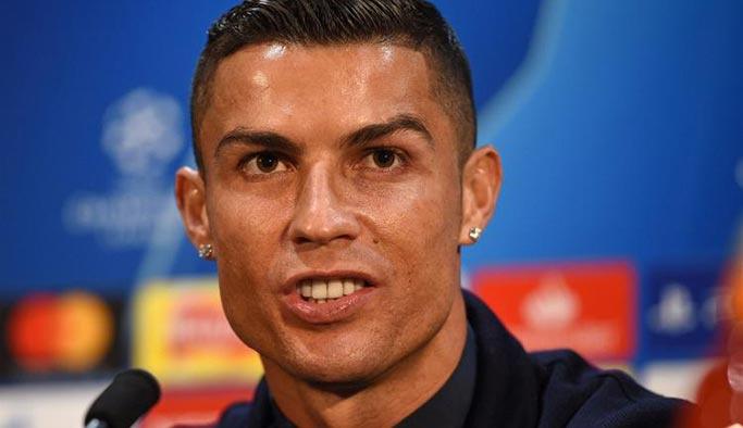 Ronaldo 'tecavüz' iddialarıyla ilgili ilk kez konuştu