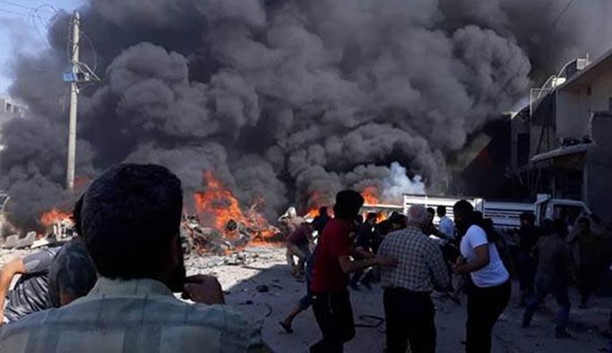 Suriye'de patlama, ölü ve yaralılar var