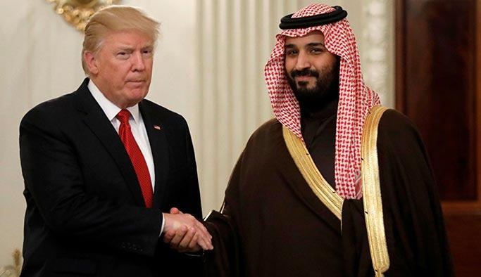 Trump ilk kez Prens Selman'ı doğrudan hedef aldı