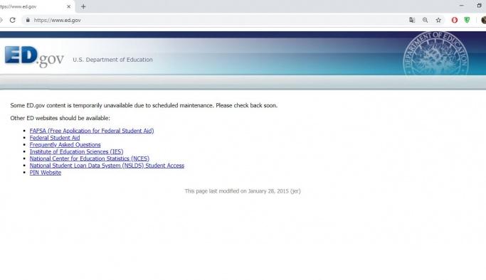 Türk hackerlardan ABD Eğitim Bakanlığı sitesine darbe!
