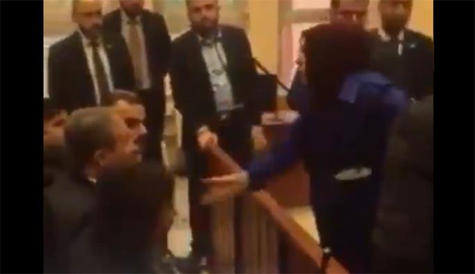 Yazıcıoğlu'nun eşi Destici'nin üzerine yürüdü