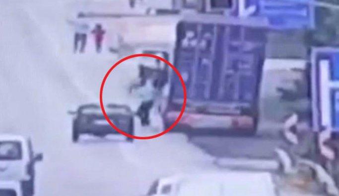 Yol vermeyen sürücüye silahlı saldırı
