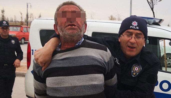 Aksaray'da iğrenç olay! Devriye gezen polisler suçüstü yakaladı…