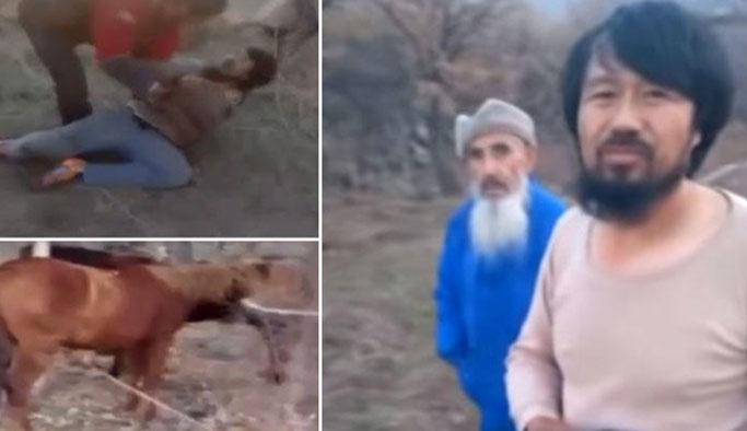 At keserken yakalanan baba-oğul: Satıcı değil yiyiciğiz