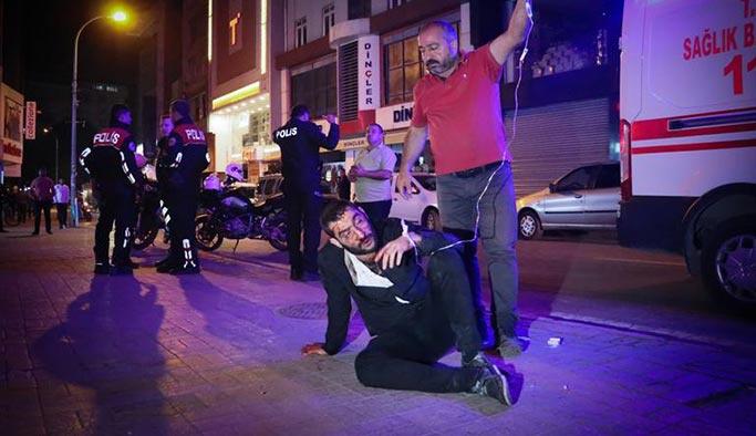 Barda haraç çatışması, yaralılar var
