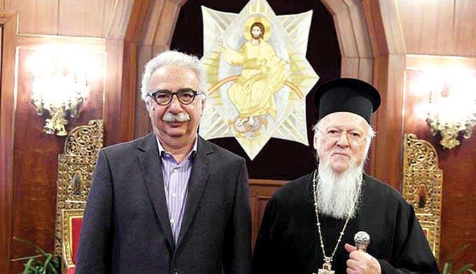 Bartholomeos Yunan Bakanı azarladı