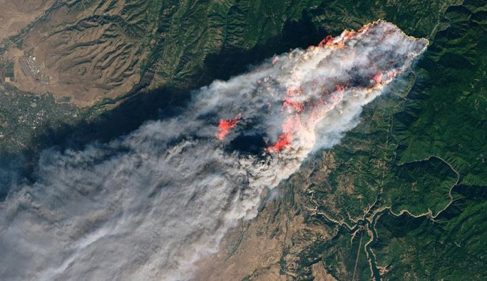 California hala yanıyor, ölü sayısı yükseldi