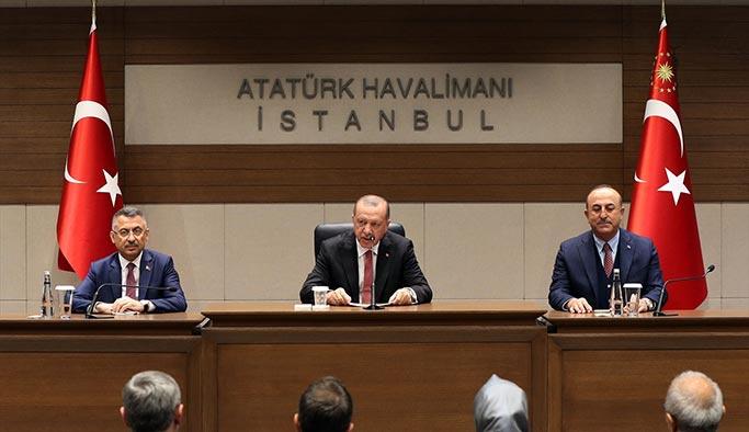 Cumhurbaşkanı Erdoğan Güney Amerika'ya gitti