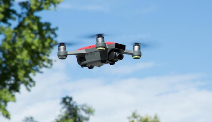 Drone ile hastaneler arası organ taşındı
