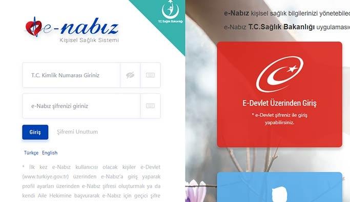 e-Nabız Giriş 2019: Kan tahlili, rapor, reçete ve randevu sorgulama - Resimli Anlatım