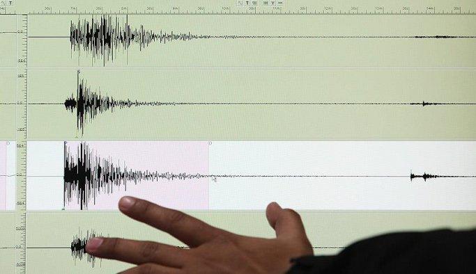 Ege Denizi'nde endişelendiren deprem