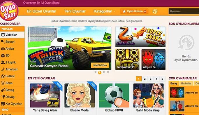Çocuklar için en iyi oyun siteleri - Oyu Skor