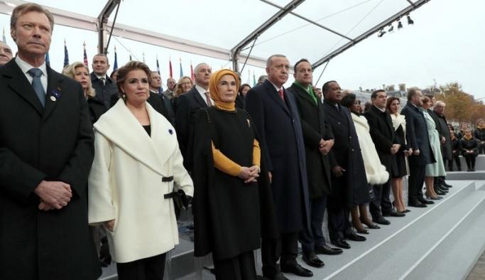 Erdoğan'dan masa başında ülkeleri bölüşenlere uyarı